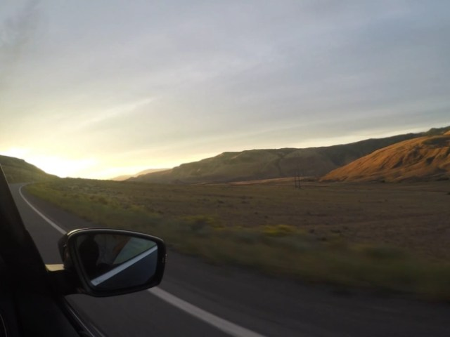 Destination Addict - Early morning watching the sunrise on the way to Kamloops, British Columbia, Canada