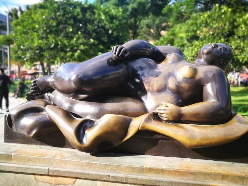 Destination Addict - Fernando Botero's works are certainly unique, Parque Botero, Medellin, Colombia