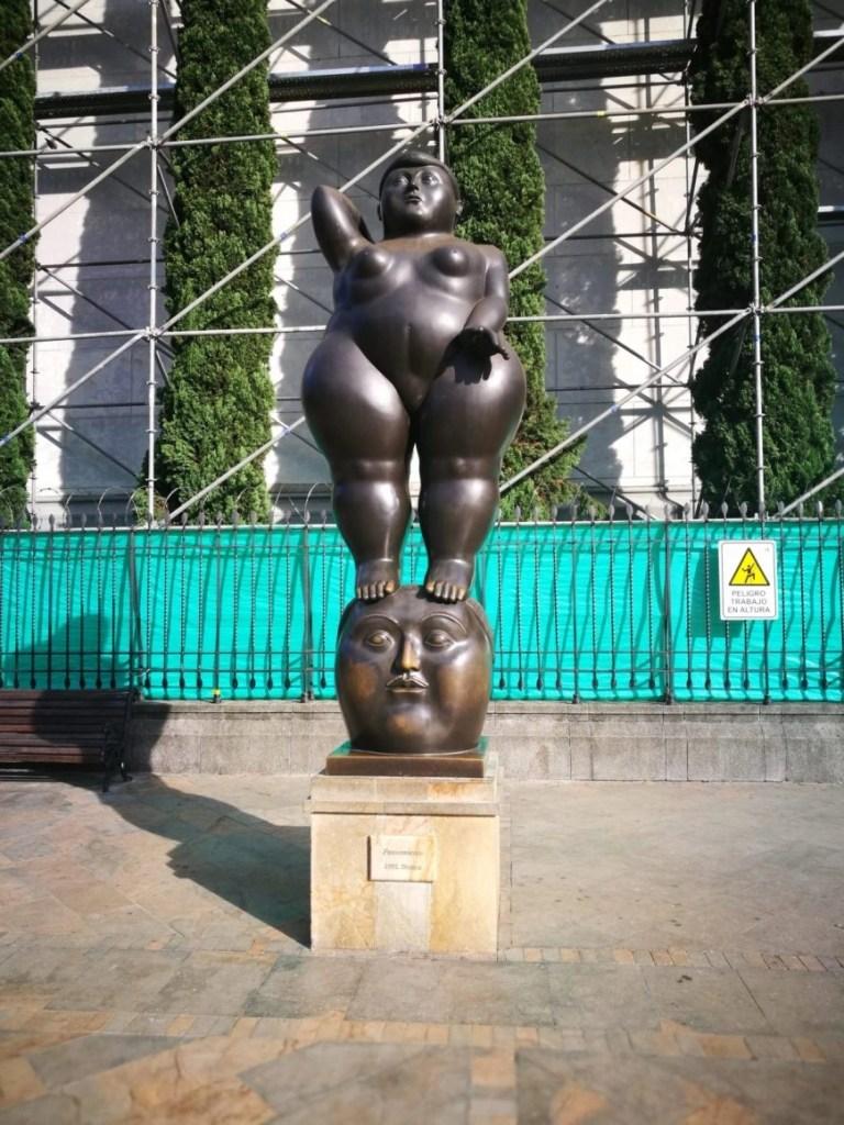Destination Addict - One of our favourite Botero statues, Parque Botero, Medellin, Colombia