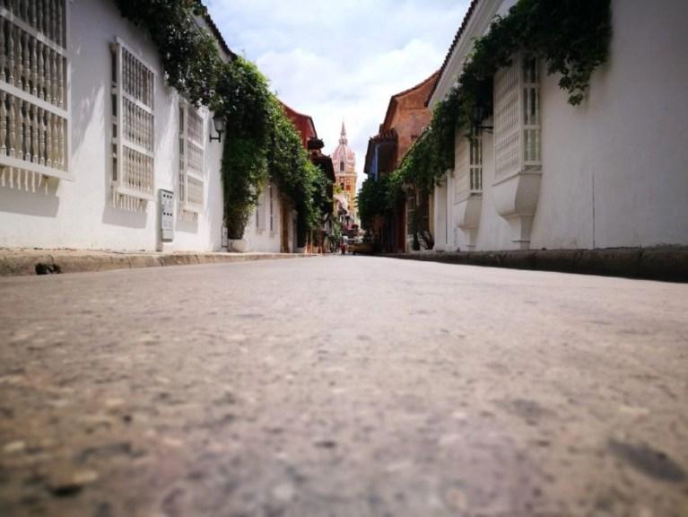 Destination Addict - Street view of Cartagena, Colombia