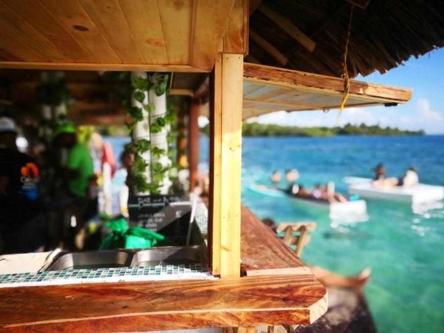 Destination Addict - The ocean front bar was awesome, Casa En El Agua, Cartagena, Colombia