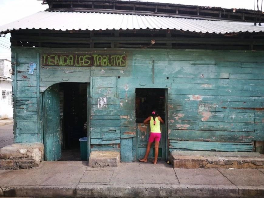 Destination Addict - A local shop in Getsemani, Cartagena, Colombia