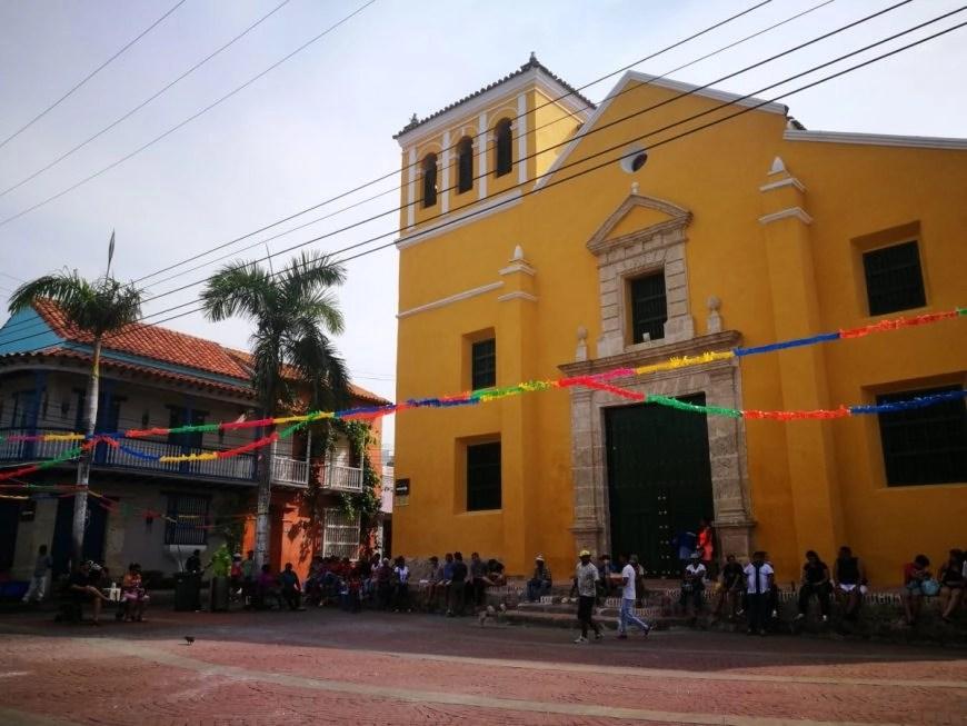 Destination Addict - Plaza de Trinidad, Getsemani, Cartagena, Colombia