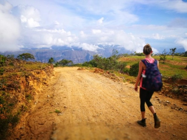 Approaching the Canyon, Santander, Colombia