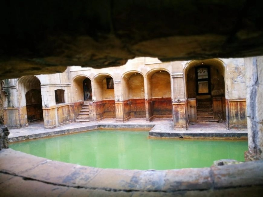 """Destination Addict - A glimpse into what life must have been like at """"Aquae Sulis"""" the Roman name for this ancient site, city of Bath, Somerset."""