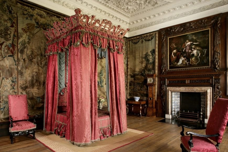 The Kings Bedchamber, The Palace at Holyroodhouse, Edinburgh. Credit - Royal Collection Trust / © Her Majesty Queen Elizabeth II 2018 - Destination Addict 24 Hours In Edinburgh