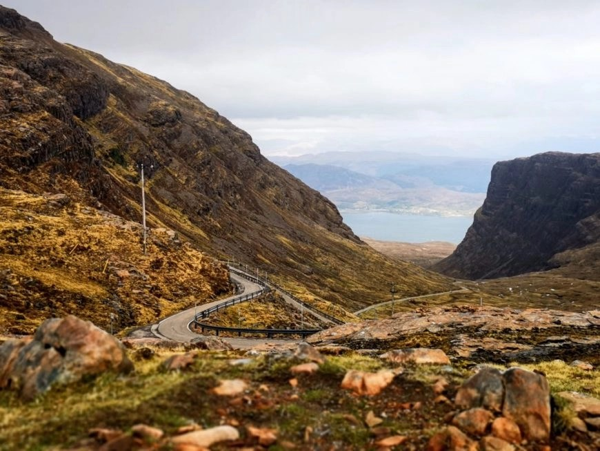 Enjoying the last part of the drive & views, NC500 – An Epic Itinerary For Scotland's North Coast - Destination Addict