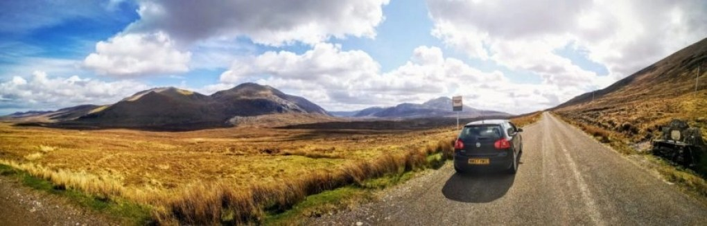 Nothing but wide open road & adventure - NC500 – An Epic Itinerary For Scotland's North Coast - Destination Addict