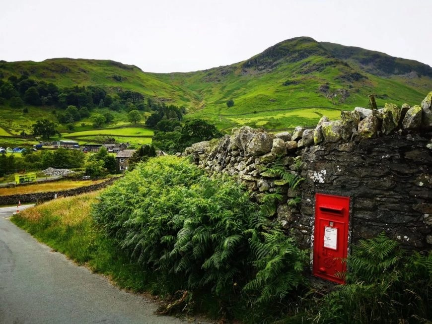 Coming out of the village of Glenridding, Lake District, England - Destination Addict