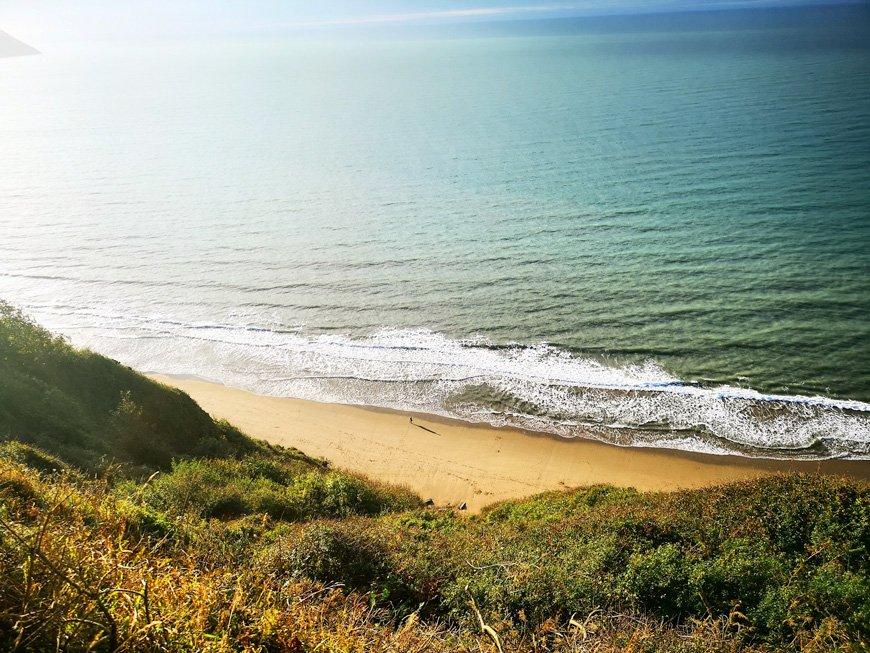 Penbryn Beach Coastal Path - Van Life UK - Destination Addict