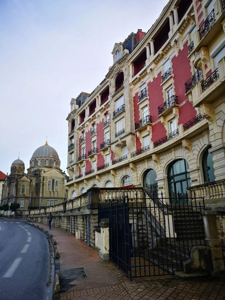 Walking around Biaritz, France - Van Life Europe