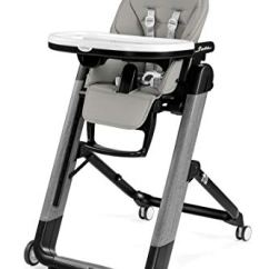 Peg Perego Tatamia High Chair Hospital Chairs Prima Pappa And Siesta Ambiance Grey Eco Leather