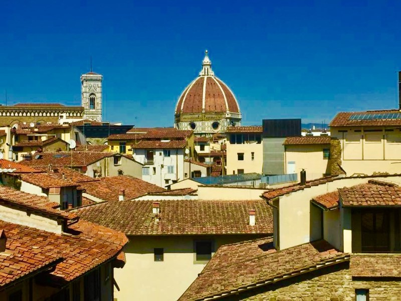 View of Florence from the Uffizi Gallery