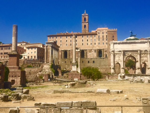 The Roman Forum (including the Arch of Constantine)