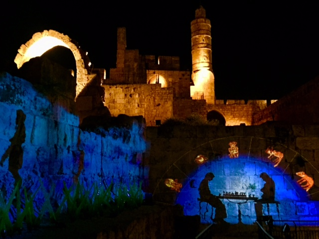 David Citadel at Night