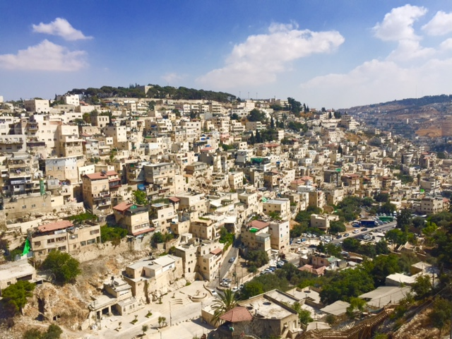 View from the City of David Observation Deck