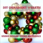 'Tis the Season: Dollar Tree Ornament Wreath
