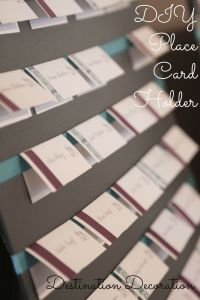 Place Card Holder-Pinterest