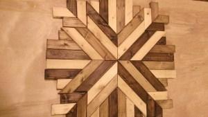 Wood Quilt Square