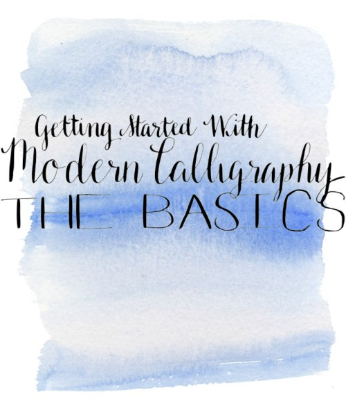 Getting Started with Modern Calligraphy: The Basics | How to Set Up Your Calligraphy Pen | How to Dip and Use Your Calligraphy Pen | Basic Strokes for Calligraphy |Destination Decoration