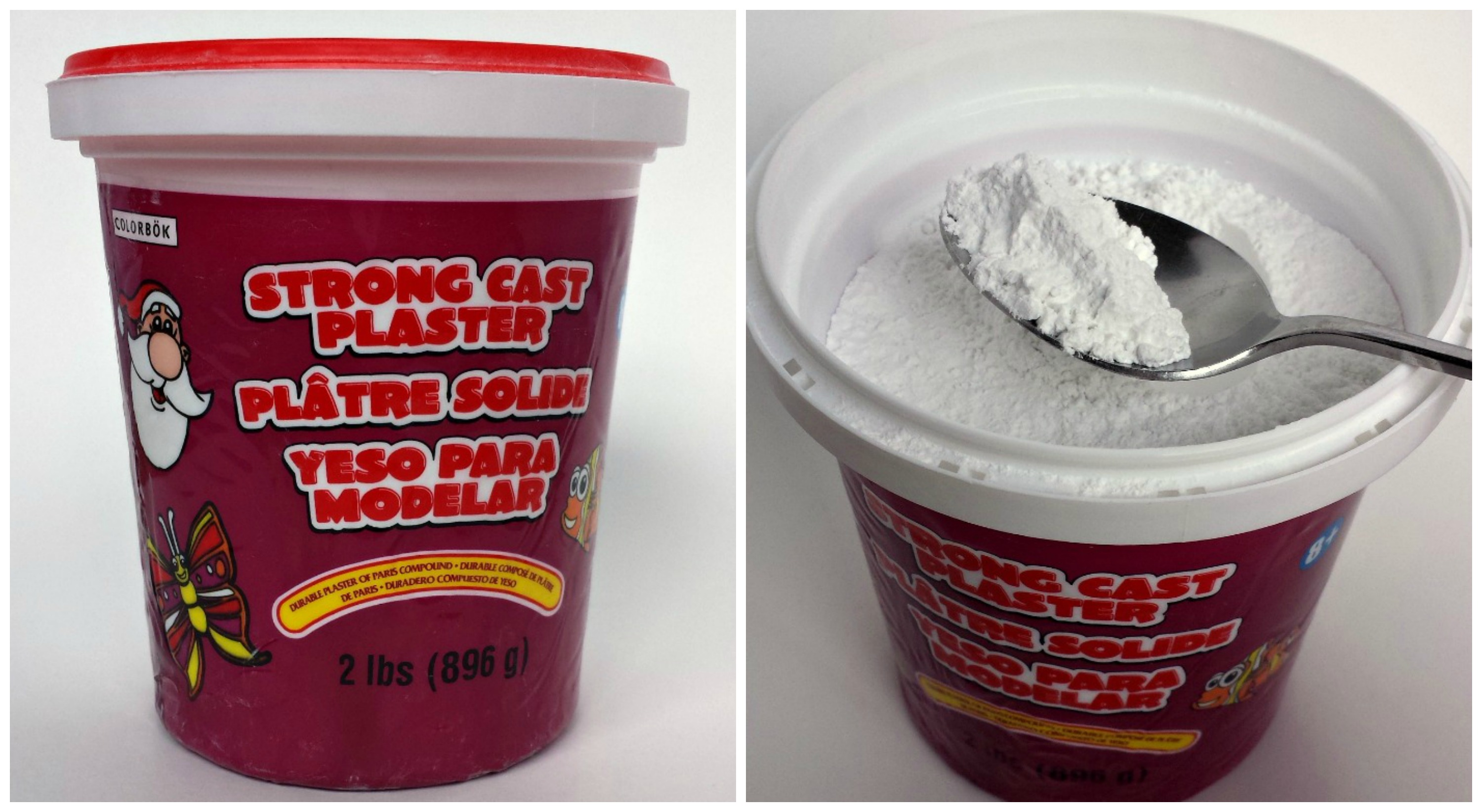 how to make plaster of paris mixture