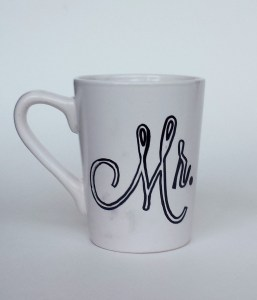 Traced Mr Sharpie Mug