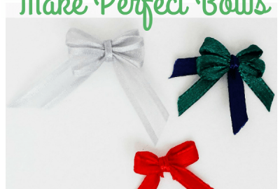 Make Perfect Bows Using a Fork - How to Make Adorable Tiny Bows - Destination Decoration