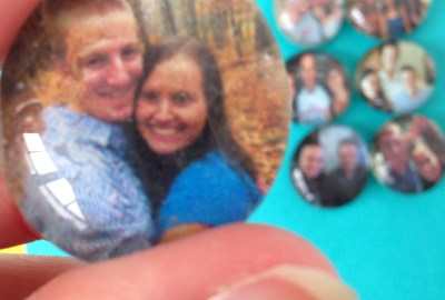 How to Make Photo Magnets Using Dollar Tree Glass Gems