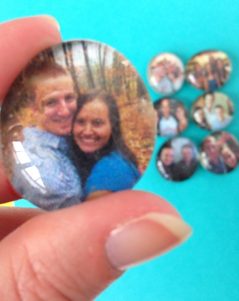 How to Make Photo Magnets Using Dollar Tree Glass Gems - An Easy and Fun Project and Perfect for Gifts