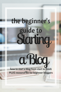 How to Start a Blog | Use Self-Hosted Wordpress to Design and Create Your Own Blog | Resource List Included