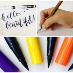 The Progression of Hand-Lettering-Going from Easy to Difficult - Practicing Handwriting, Fake Calligraphy, Brush Lettering, and Pointed-Pen Calligraphy