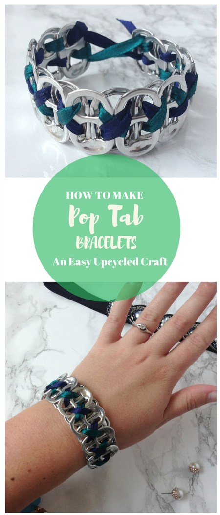 How to Make Pop Tab Bracelets | Upcycle Pop Tabs to Create a Beautiful Bracelet | A Perfect Craft for Teens and Adults | Destination Decoration