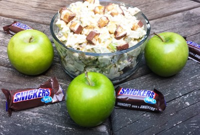 Caramel Apple Snickers Salad | Snickers Salad Recipe | A Perfect Dessert That Everyone Will Enjoy | Destination Decoration