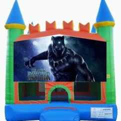Party Rentals Tables And Chairs Revolving Chair Price In Lahore Destination Events Black Panther Bounce House -