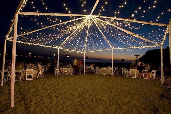 Destination Events Wedding Lights Oregon Light Rental in