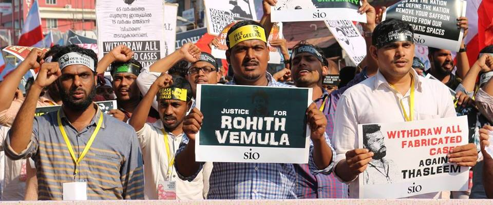 Student activism in India
