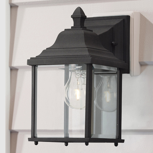 colonial outdoor wall lights