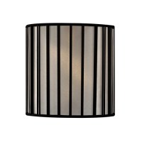 Black Drum Lamp Shade with Uno Assembly | SH9546 ...