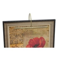 House Of Troy Lighting Advent Antique Brass LED Picture ...