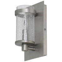 Seeded Glass Wall Lamp Pewter House of Troy Lighting ...