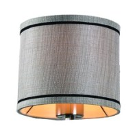 Modern Pendant Light with Drum Shade in Oil Rubbed Bronze ...