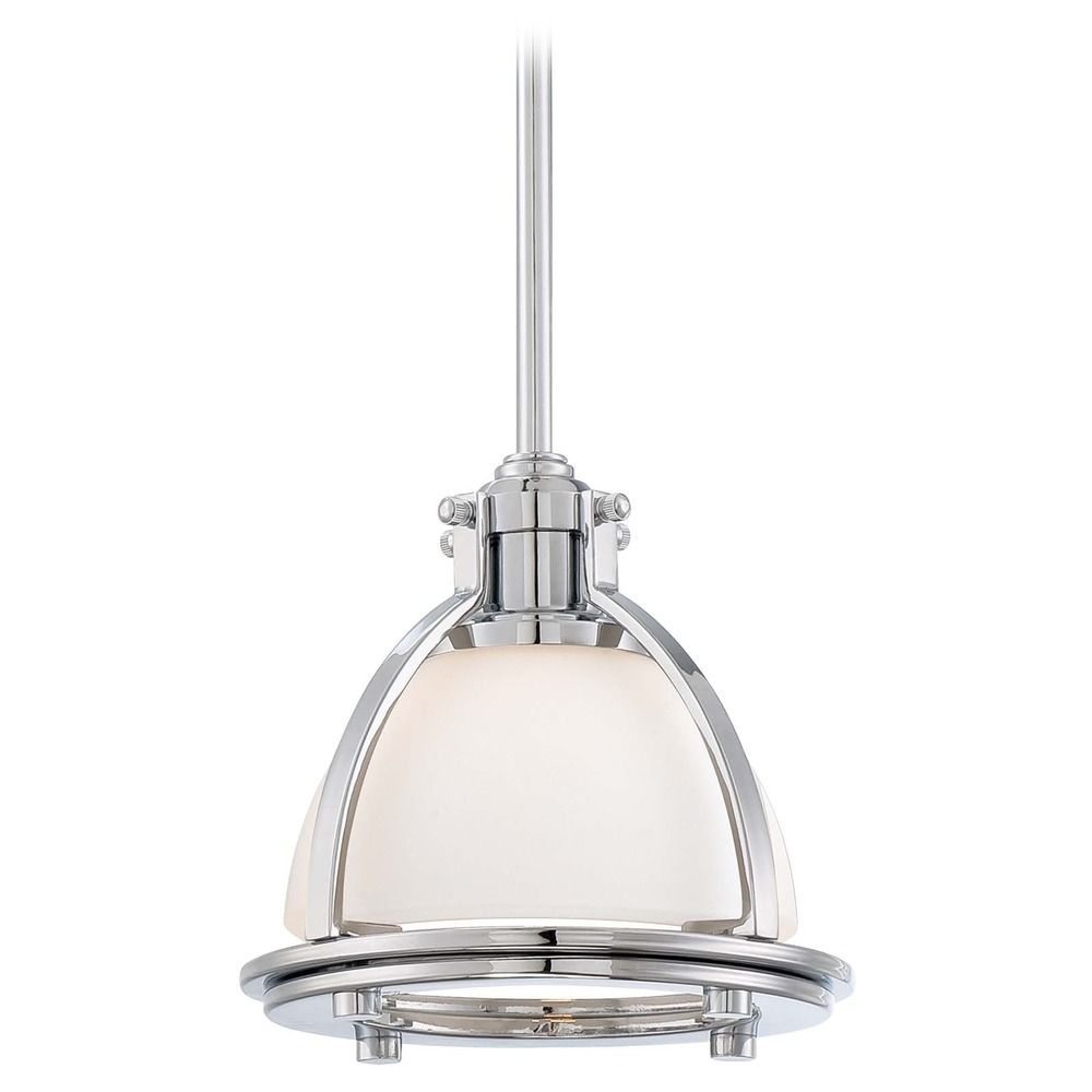 MiniPendant Light with White Glass  224077