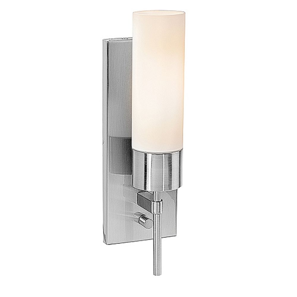 Cylindrical Wall Sconce with On/Off Switch