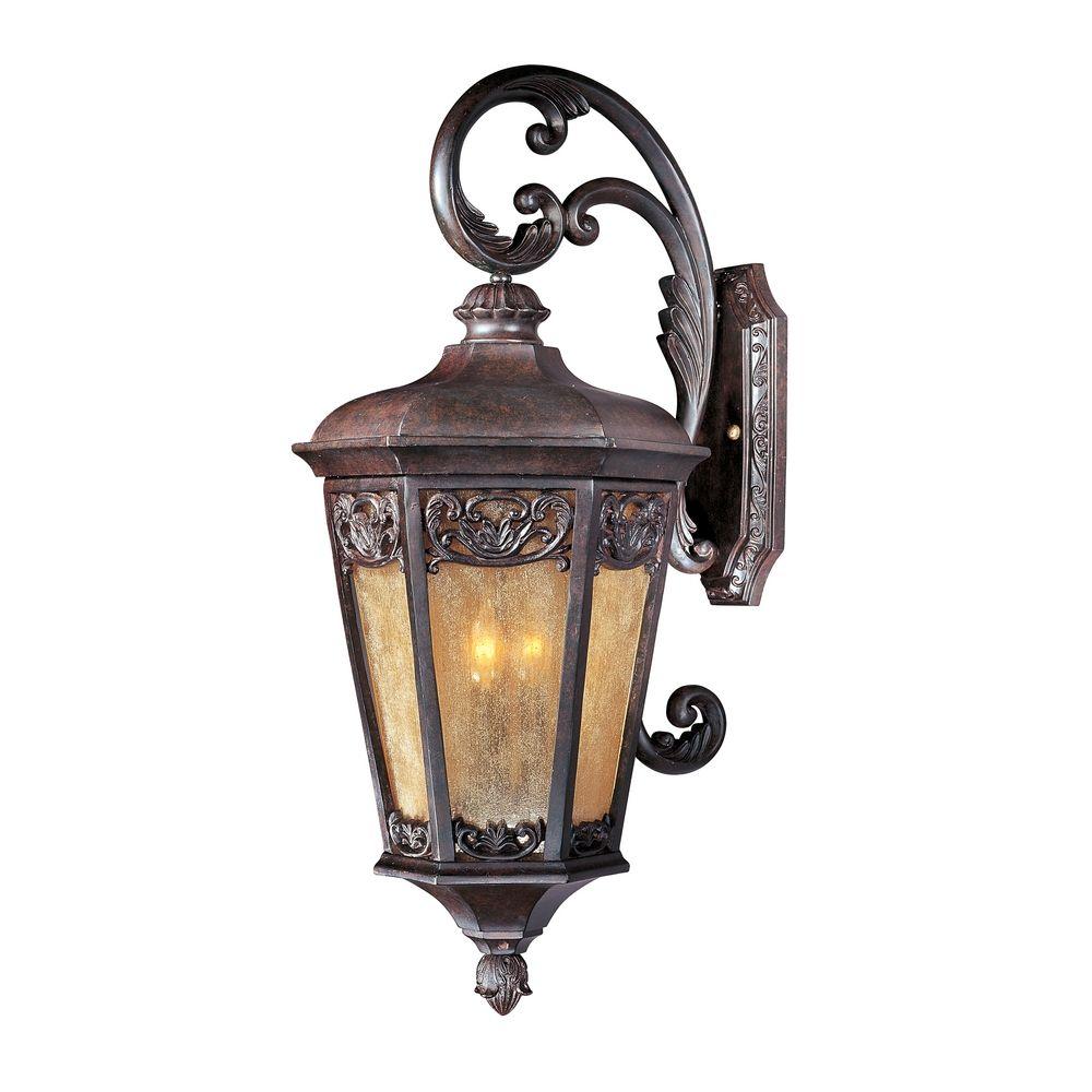 maxim lighting lexington vx colonial umber outdoor wall light at destination lighting