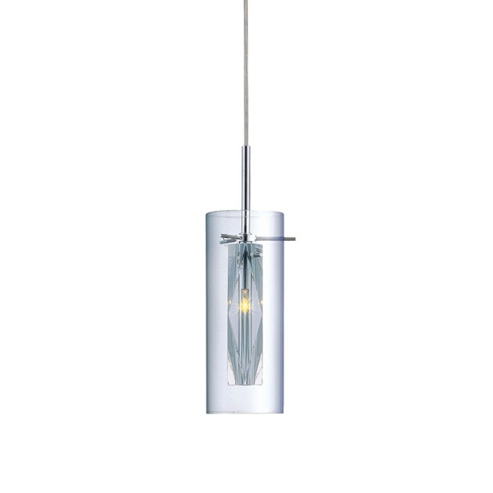 Chrome Mini Pendant Light