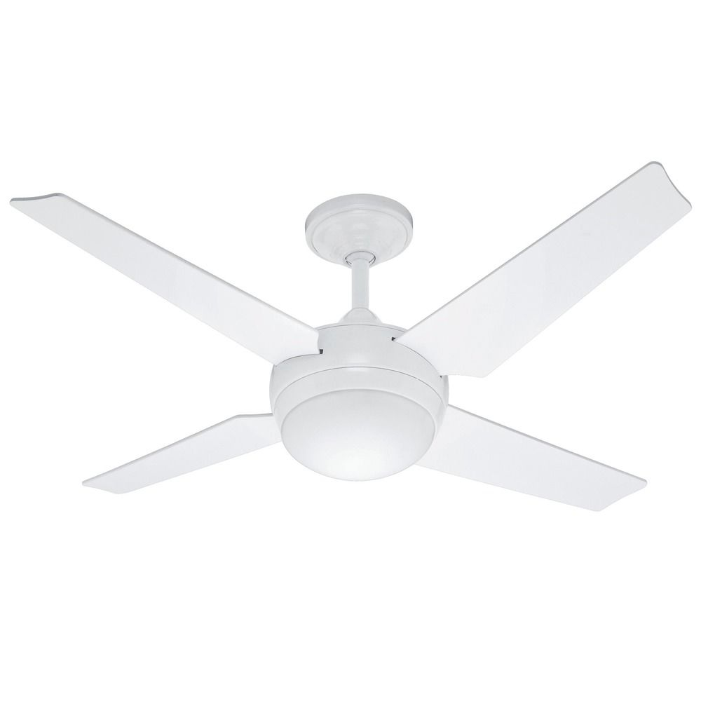Casablanca 59073 Hunter Sonic White Ceiling Fan with Light