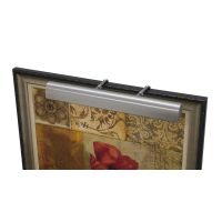 House Of Troy Classic Traditional Satin Nickel LED Picture ...
