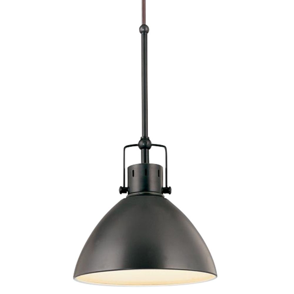 Retro Cone Mini Pendant Light in Aged Bronze  2038178