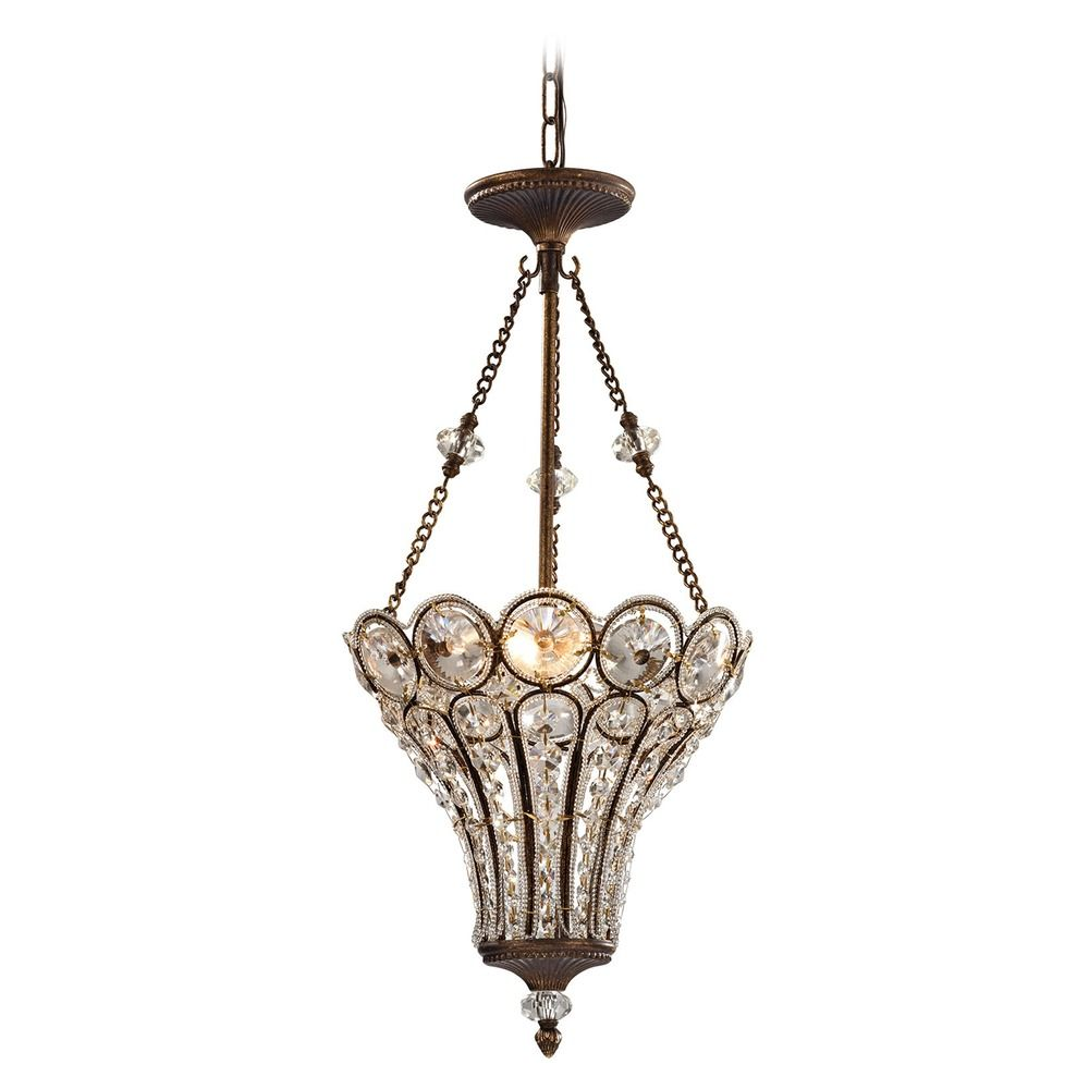 Elk Lighting Christina Mocha Pendant Light