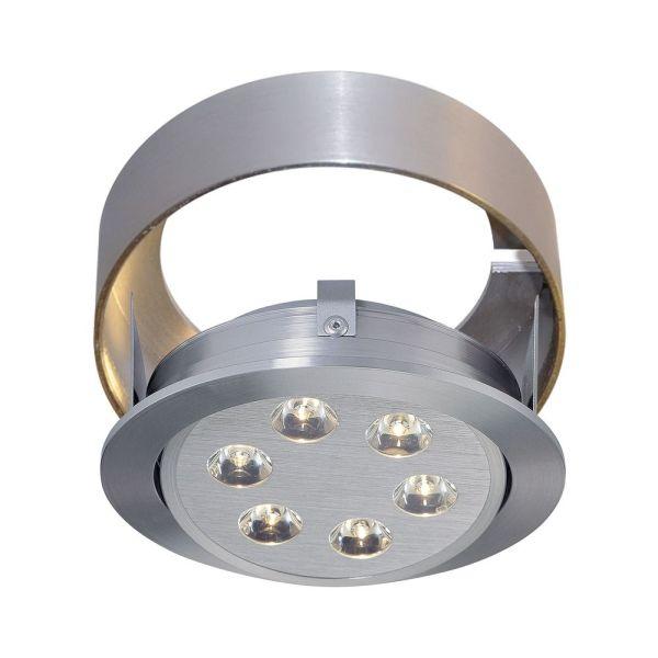 Alico Lighting Tiro Brushed Aluminum Recessed Accessory Wlc142-98 Destination